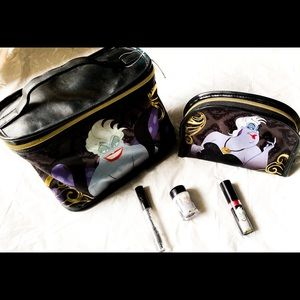 NWT Disney Villains Walgreens Ursula bags makeup